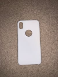 New white silicone iPhone XS Max case  Waterloo, N2T 2Y7