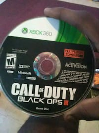 Call of Duty Black Ops 3 Xbox 360 game disc Fresno, 93706