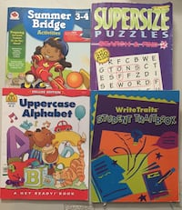 4 workbooks Mississauga, L5E 2X1