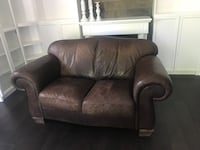 Brown Leather Couch and Loveseat Oakville, L6L 1X6