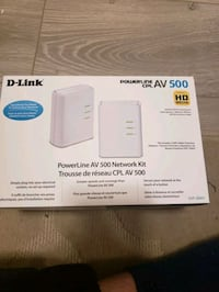 D-link Powerline AV 500 Network kit Surrey, V3S 2H3