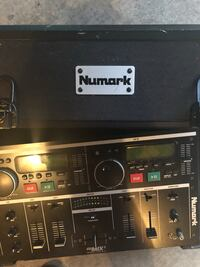 Numark CD Mixer 1 with Case and AC adapter Everett, 98204