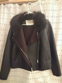 Faux leather leather jacket  Vancouver, V5T 0B3