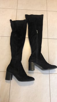 Knee high black boots Whitchurch-Stouffville, L4A 1Y4