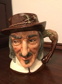 "Royal Doulton Toby Jug Large (7.5"") Izaak Walton Cocoa, 32922"