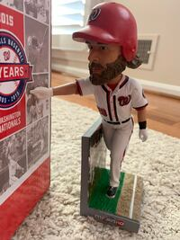 Washington Nationals Jayson Werth Bobblehead Burke, 22015