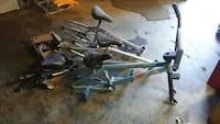 Lot of bike parts and frames New Providence, 17560
