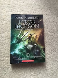 Percy Jackson and the Olympian's Book Aldie, 20105
