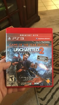 Uncharted 3 ps3 game Sacramento, 95828
