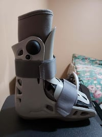Air cast foot boot