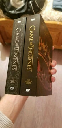Game of Thrones first 2 seasons DVD