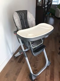 High chair posted dome pictures of a toys r us to show the different functions. Montréal, H1C 0E7