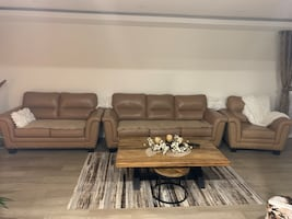 Sofas real leather
