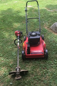 Nice Self Propelled Mower, Straight Shaft Craftsman Weedeater. They need to be tuned up. If you are good with small engine you got a killer deal ! Johnson City, 37615
