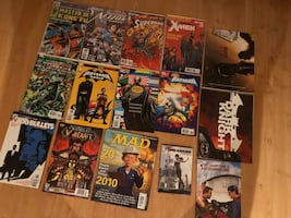 Mint Comic Book Collection