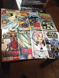 New and old comic books Los Angeles, 91344