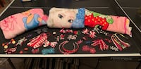 Girls Hair Bows and Blankets