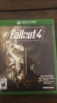 Fallout 4 Xbox One game case Guelph, N1E 0L7