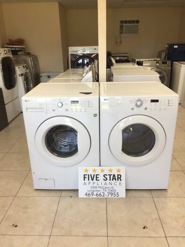 LG Washer And Matching Electric Dryer