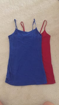 women's blue and red tank top Gurnee, 60031