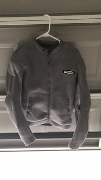 Motorcycle Jacket with protective shoulder/sleeve pads ( Arlen Ness) Size M,  Savannah, 31419