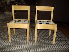 Kids Chairs (2) Mickey Mouse