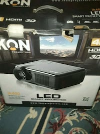Home projector used once. IKON PROJECTOR. Toronto, M8V 3B8