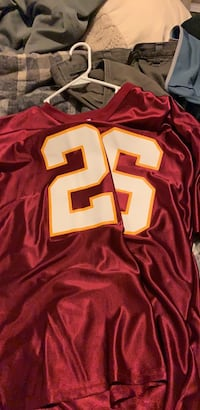 Red and white nfl jersey Lignum, 22726