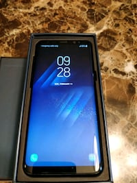 9.5/10 Samsung S8.. Warranty till 5th Jan 2019 Mississauga, L5A 2H5
