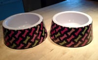 2 Medium (2.75 cup) Dog Dishes - $4 for both Calgary, T3E 2S9