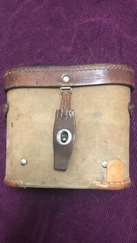 brown pouch bag