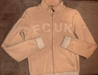 For Sale: EUC FCUK (FRENCH CONNECTION) LADIES ZIP-UP (SM) SWEATER $20 Mississauga, L5B 2C9