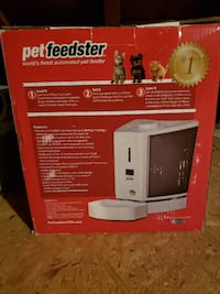 Pet Feedster - automatic cat food feeder