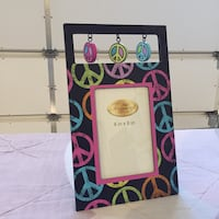 Peace sign picture frame Thornton, 80602