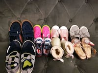 Assorted kids shoes Mississauga, L5N 2P8
