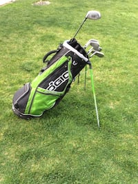 Bazooka 5-9 Irons and Prokennex Driver with Ogio Bag Meridian, 83642