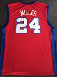 Red blue miller Jersey  Northampton, 01060