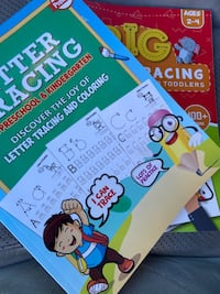 Two Letter Tracing Books