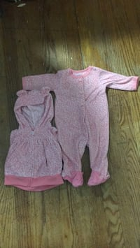 baby girl pajamas  58 km
