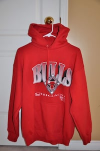 red and white pullover hoodie Barrie, L4M 7G1