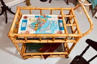 Fun retro bamboo cart Derwood