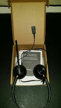 Brand new call center headset
