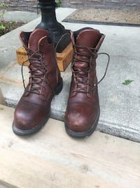 Redwing full leather work boots sz11! CSA approved  London, N6K 1K9