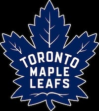 Toronto Maple Leafs Ticket October 25 2019