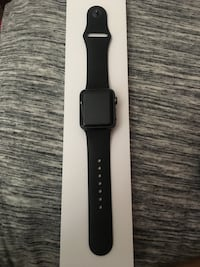 space gray aluminum case Apple Watch with black sport band Prescott Valley, 86315