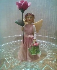 Wildflower angel  6 inches tall  great grad gift