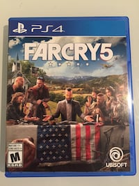 Far cry 5 PS4 - with pre order code unused