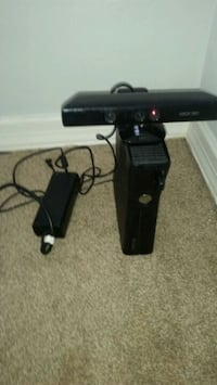 XBOX 360 with kinect & controller.