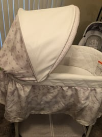 Baby bassinet only used a couple of times with storage and music!! San Antonio, 78258
