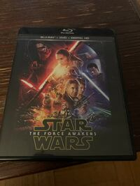 Star Wars force awakens blu ray Toronto, M4R 1E2